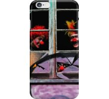 Halloween House Party iPhone Case/Skin