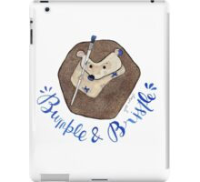 Bumble & Bristle Logo iPad Case/Skin