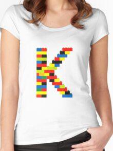 K t-shirt Women's Fitted Scoop T-Shirt