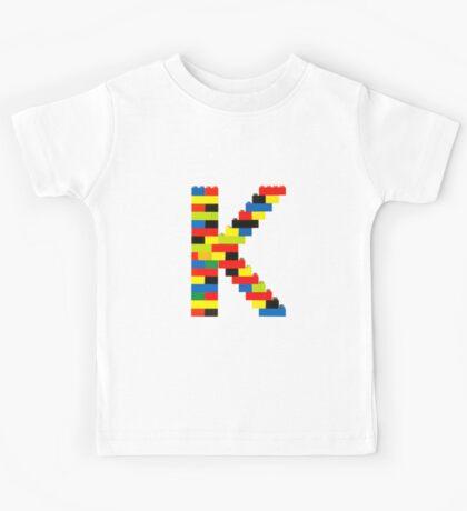 K t-shirt Kids Tee
