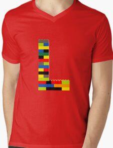 L Mens V-Neck T-Shirt