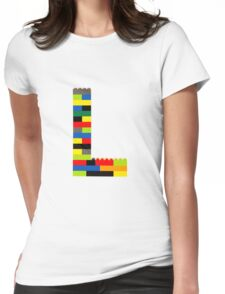 L t-shirt Womens Fitted T-Shirt