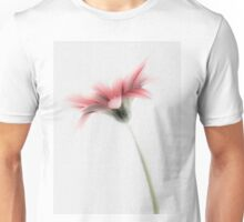Delicately Painted High Key Gerbera Unisex T-Shirt