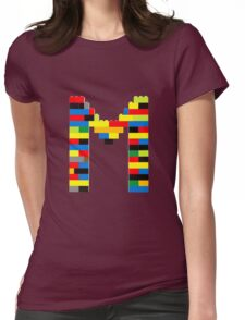 M t-shirt Womens Fitted T-Shirt