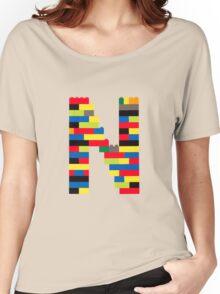 N t-shirt Women's Relaxed Fit T-Shirt
