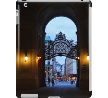 Welcome to Vienna iPad Case/Skin