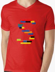 S Mens V-Neck T-Shirt