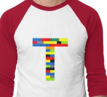 T t-shirt Men's Baseball ¾ T-Shirt