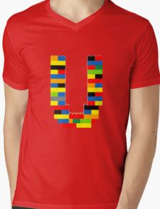 U Mens V-Neck T-Shirt
