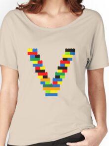 V t-shirt Women's Relaxed Fit T-Shirt