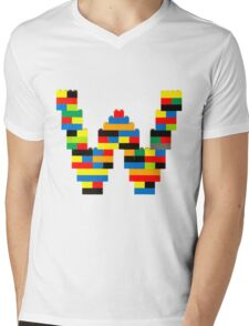 W t-shirt Mens V-Neck T-Shirt