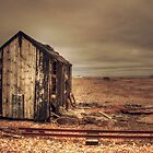 Shed On The Sands II  by Dave Godden