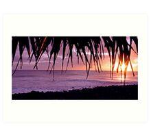 Lennox Head sunrise Art Print