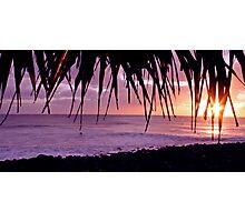 Lennox Head sunrise Photographic Print