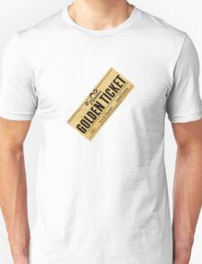 Golden Ticket Unisex T-Shirt