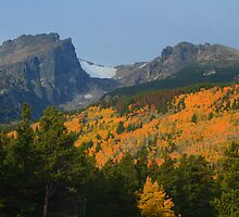 Hallett and some Fall Colors by Paul Gana