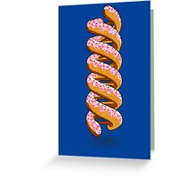 Donut DNA Greeting Card