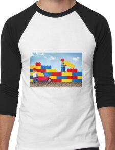 Build it Higher Men's Baseball ¾ T-Shirt