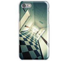 Abandoned Hospital Corridor iPhone Case/Skin