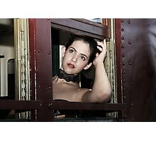 Through The Window Photographic Print