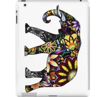 Aztec Elephant White iPad Case/Skin