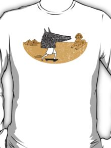 Anubis Fanboy on a Skateboard T-Shirt