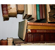 The Story of Books Photographic Print