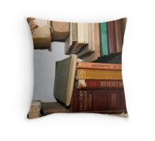 The Story of Books Throw Pillow
