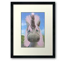 Unicorn Glow Framed Print