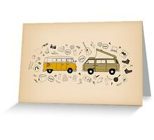 Van Life Greeting Card