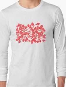 Strawberry Vine Landscape Long Sleeve T-Shirt