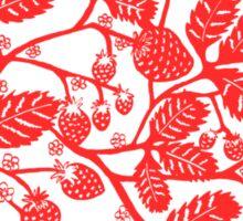 Strawberry Vine Landscape Sticker