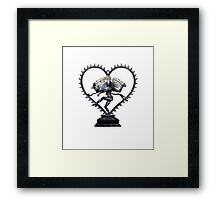 Shiva Nataraj, Lord of Dance, in love with love itself  Framed Print