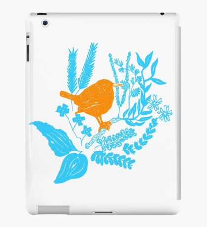 Wren in the Undergrowth iPad Case/Skin