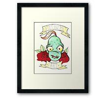 Oddworld Framed Print