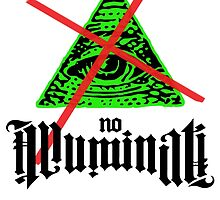No Illuminati Green by tinaodarby