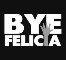 Bye Felicia Hand Wave Grey & White by FireFoxxy