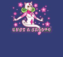 Here to Bust A Groove Womens Fitted T-Shirt
