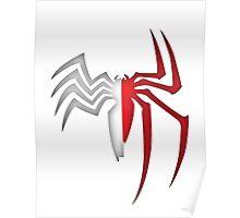 Spiderman/Venom Poster