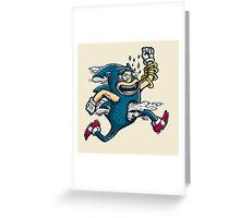 Gotta Go Fast Greeting Card