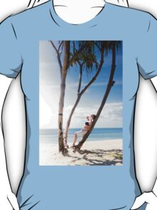 Woman On Holiday T-Shirt