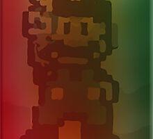 PEACE BROS® (Pixel Art 420 bit) by TRELAB