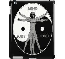 Body Mind Spirit  iPad Case/Skin