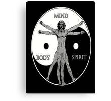 Body Mind Spirit  Canvas Print