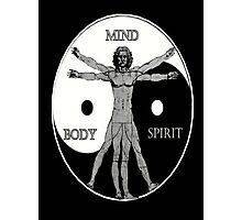 Body Mind Spirit  Photographic Print
