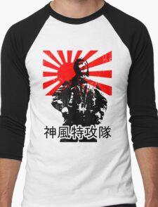 Shimpū Tokkōtai (Kamikaze)... Men's Baseball ¾ T-Shirt