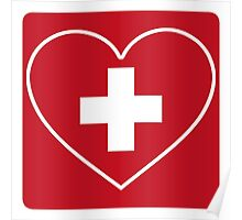 Get Well Soon, Doctor, Heart, First Aid, Swiss Army, Victorinox, Sexy Nurse Poster