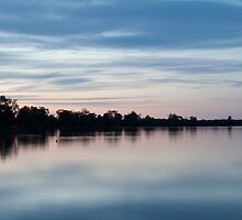 Lake Towerinning at Sunset 2 by Leonie Mac Lean