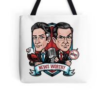 News Worthy Tote Bag