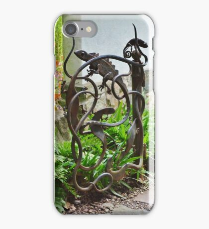 Lizards and Snakes and Other Creepy Creatures iPhone Case/Skin